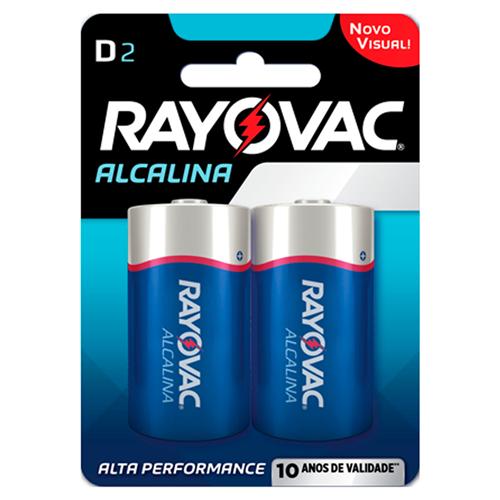RAYOVAC ALCALINA GRANDE  | CAIXA  C/ 12X2