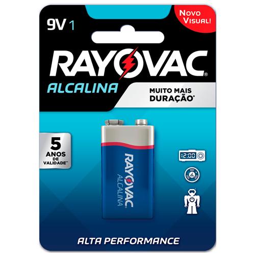RAYOVAC BATERIA 9V  | CAIXA  C/ 12X1