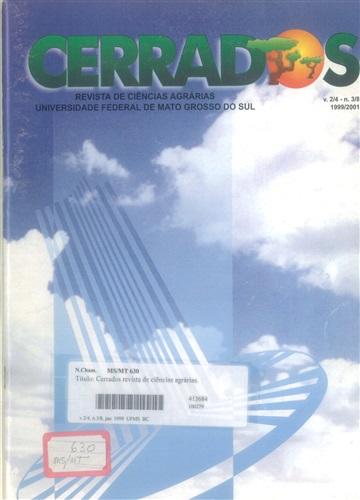 Revista Cerrados de Ciências Agrárias (Volume 2/4 | Número 3/8)