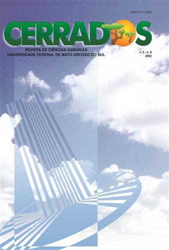 Revista Cerrados de Ciências Agrárias (Volume 5 | Número 9)