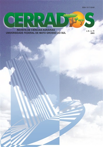 Revista Cerrados de Ciências Agrárias (Volume 6 | Número 11)