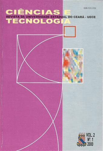 Revista ciências e tecnologia Vol. 2 N°1