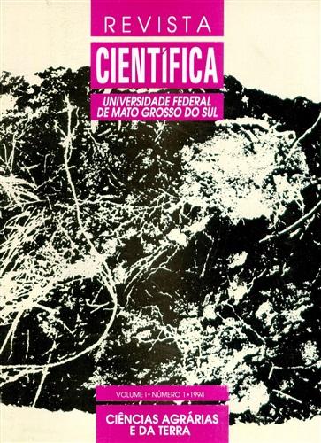 Revista Científica – Ciências Agrárias e da Terra (Volume 1 | Número 1)
