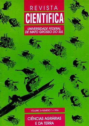 Revista Científica – Ciências Agrárias e da Terra (Volume 3| Número 1)