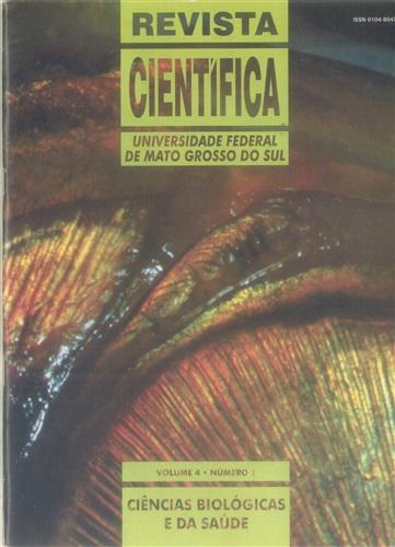 Revista Científica – Ciências Biológicas e da Saúde (Volume 4 | Número 1)