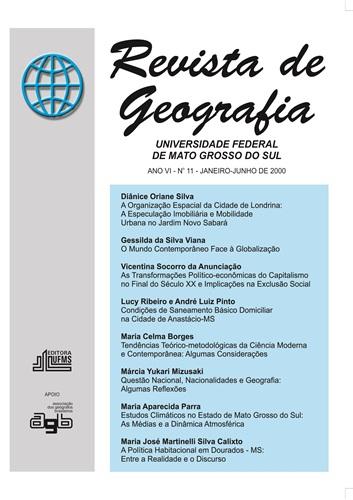 Revista de Geografia (Número 11)