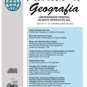 Revista de Geografia (Número 15)