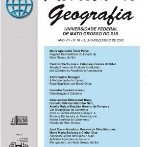 Revista de Geografia (Número 16)