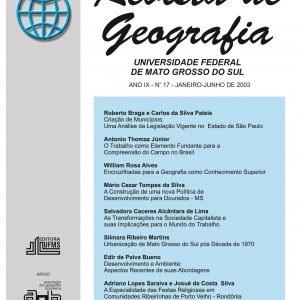 Revista de Geografia (Número 17)