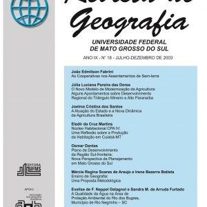 Revista de Geografia (Número 18)