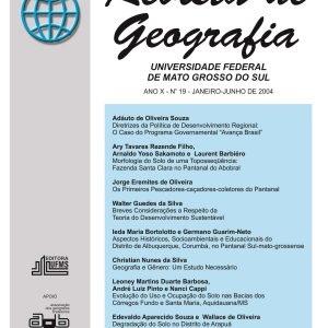 Revista de Geografia (Número 19)