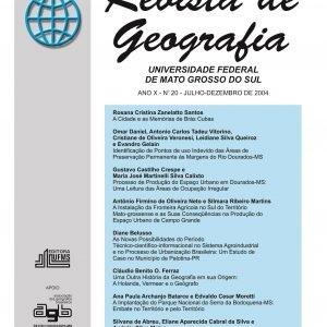 Revista de Geografia (Número 20)