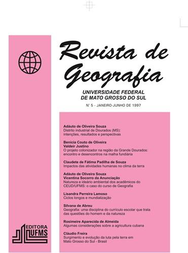 Revista de Geografia (Número 5)
