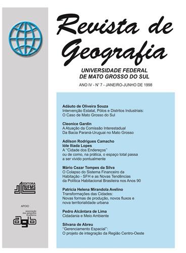 Revista de Geografia: número 7