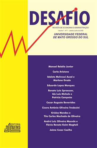 Revista Desafio de Economia e Administração (Volume 1, Número 1)