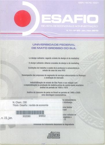 Revista Desafio de Economia e Administração (Volume 11, Número 23)