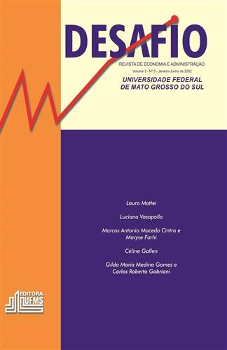 Revista Desafio de Economia e Administração (Volume 3, Número 5)