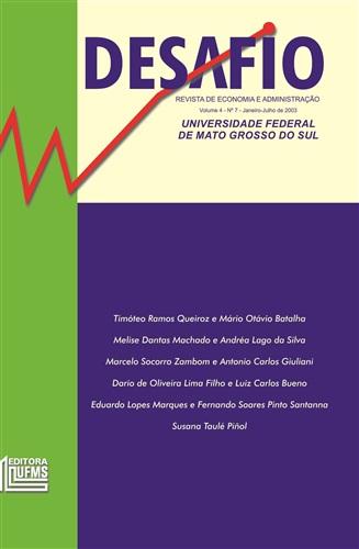 Revista Desafio de Economia e Administração (Volume 4, Número 7)