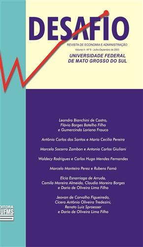 Revista Desafio de Economia e Administração (Volume 4, Número 8)