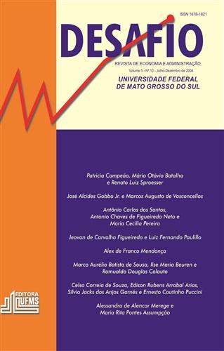 Revista Desafio de Economia e Administração (Volume 5, Número 10)