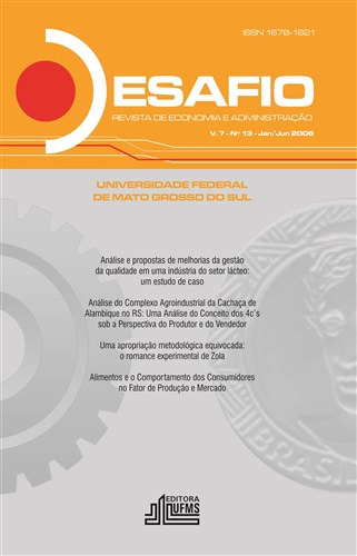 Revista Desafio de Economia e Administração (Volume 7, número 13)