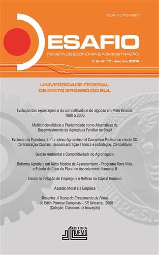Revista Desafio de Economia e Administração (Volume 9, número 17)
