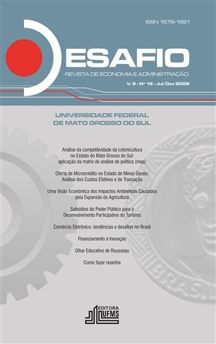 Revista Desafio de Economia e Administração (Volume 9, número 18)