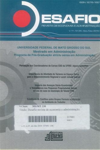 Revista Desafio de Economia e Administração volume 11, número 25