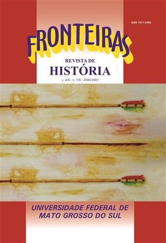 Revista Fronteiras de História UFMS (Volume 4/5, Número 7/9)