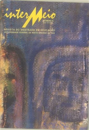 Revista Intermeio: Revista do Mestrado em Educação (Volume 3 | Número 5)