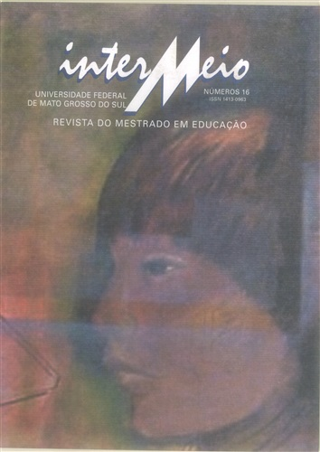 Revista Intermeio: Revista do Mestrado em Educação (Volume 8 | Número 16)