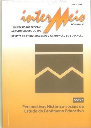Revista Intermeio: Revista do Programa de Pós-Graduação em Educação (Volume 20 | Número 40)
