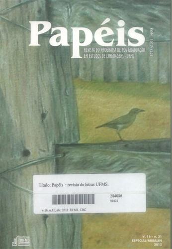Revista Papéis de Letras UFMS (Volume 16 | Número 31)