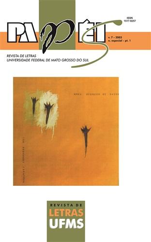 Revista Papéis de Letras UFMS (Volume 7 | Número Especial – Parte 1)
