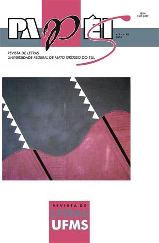 Revista Papéis de Letras UFMS (Volume 9 | Número 18)