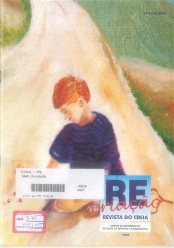 Revista Re-criação do CREIA (Volume 4   Número 1)