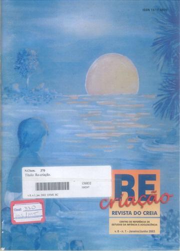 Revista Re-criação do CREIA (Volume 8   Número 1)