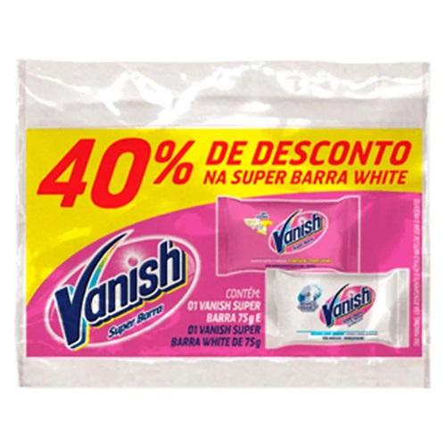 SABÃO PEDRA VANISH PINK WHITHE  40% OFF
