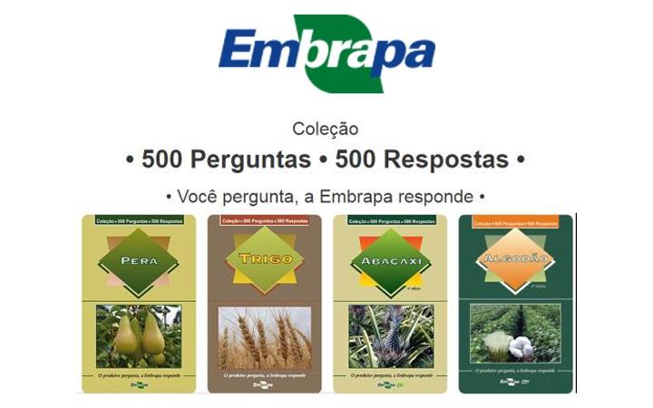 Site de Coleção de perguntas e respostas da Embrapa ultrapassa 90 mil acessos