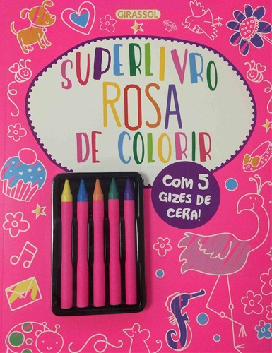 Superlivro: Rosa de Colorir