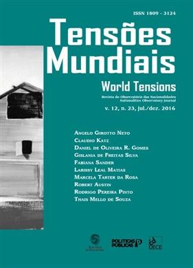 Tensões mundiais Vol. 12 Nº 23