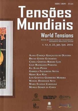 Tensões mundiais Vol. 12 Nº 22