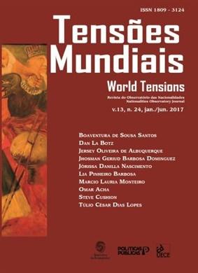 Tensões mundiais Vol. 13 Nº 24