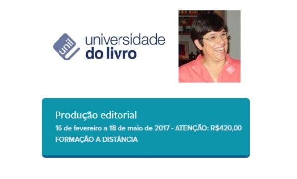 Unil oferece curso sobre produção editorial com Laura Bacellar mais uma vez